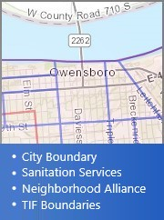 Citizen Information Map